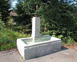 Brunnen Gemeindehaus